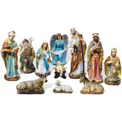 "11 Element Nativity Set 43""..."