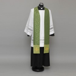 Gothic Stole 9274 - Light Green  - 1