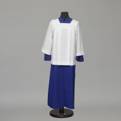 Altar server cassock and pleated style cotta 2528