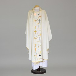 Gothic Chasuble 9352 - Cream