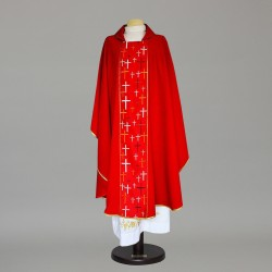Gothic Chasuble 9353 - Red