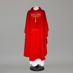 Gothic Chasuble 9385 - Red