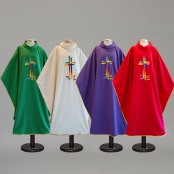 Gothic Chasuble 9404 - Green