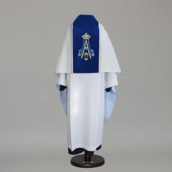 Marian Humeral Veil 9410 - Silver  - 1