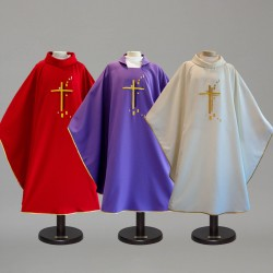 Gothic Chasuble 9414 - Purple