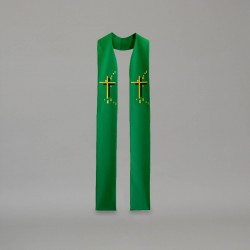 Gothic Stole 9418 - Green  - 2