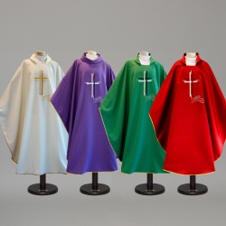Gothic Chasuble 9434 - Green