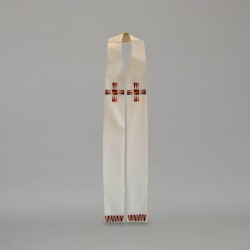 Gothic Stole 9378 - Cream
