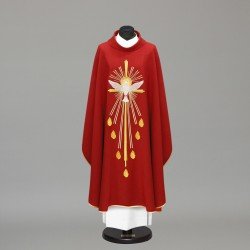 Gothic Chasuble 9685 - Red  - 1