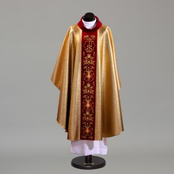 Gothic Chasuble 9714 - Gold