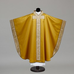 Gothic Chasuble 9722 - Gold