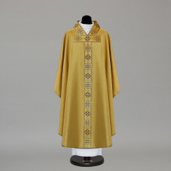 Gothic Chasuble 9727 - Gold