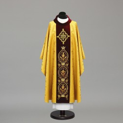 Gothic Chasuble 9734 - Gold