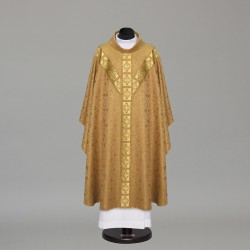 Gothic Chasuble 9736 - Gold