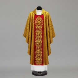 Gothic Chasuble 9747 - Gold