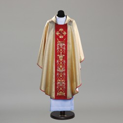 Gothic Chasuble 9753 - Gold