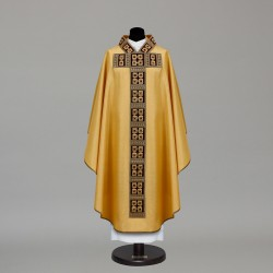 Gothic Chasuble 9754 - Gold