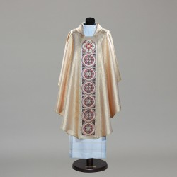 Gothic Chasuble 9763 - Gold