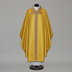 Gothic Chasuble 9772 - Gold