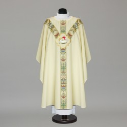 Gothic Chasuble 9789 - Cream