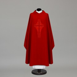 Gothic Chasuble 9865 - Red