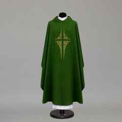 Gothic Chasuble 9866 - Green
