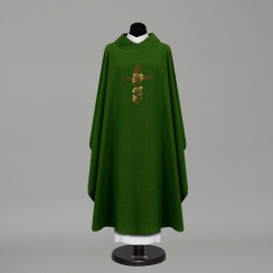 Gothic Chasuble 9871 - Green