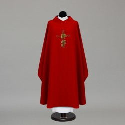 Gothic Chasuble 9874 - Red
