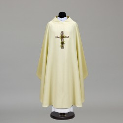 Gothic Chasuble 9875 - Cream