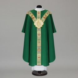 Gothic Chasuble 9880 - Green