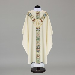 Gothic Chasuble 9882 - Cream
