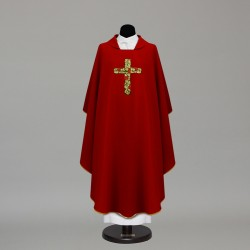 Gothic Chasuble 9886 - Red
