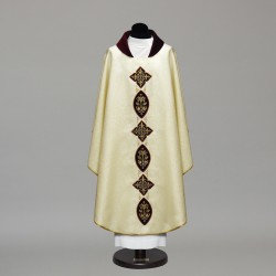 Gothic Chasuble 9935 - Cream