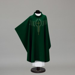 Gothic Chasuble 9965 - Green