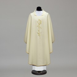 Gothic Chasuble 9967 - Cream