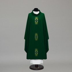 Gothic Chasuble 10002 - Green  - 2