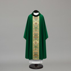 Gothic Chasuble 10009 - Green  - 3