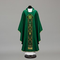 Gothic Chasuble 10022 - Green  - 1