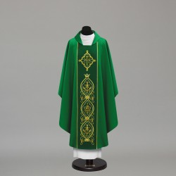 Gothic Chasuble 10045 - Green  - 1