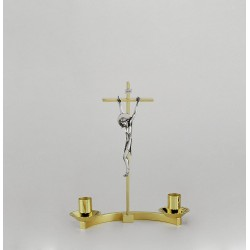 Crucifix with Candle...