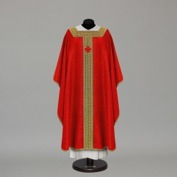 Gothic Chasuble 10158 - Red  - 1