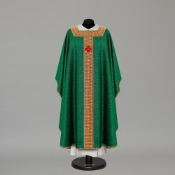 Gothic Chasuble 10159 - Green  - 2
