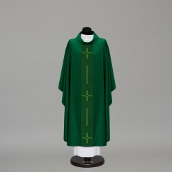 Gothic Chasuble 10220 - Green  - 4