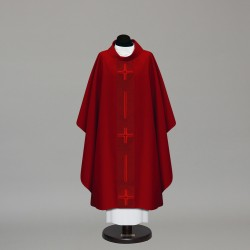 Gothic Chasuble 10221 - Red