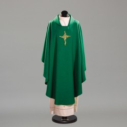 Gothic Chasuble 10224 - Green  - 1