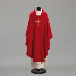 Gothic Chasuble 10225 - Red  - 3
