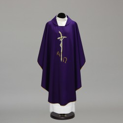 Gothic Chasuble 10228 - Purple