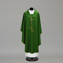 Gothic Chasuble 10229 - Green  - 2
