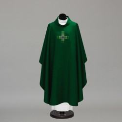 Gothic Chasuble 10233 - Green  - 3