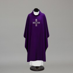 Gothic Chasuble 10234 - Purple